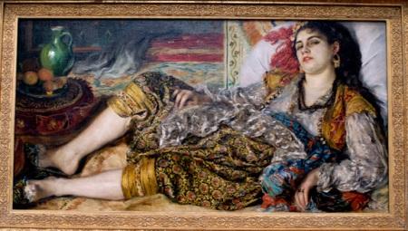 Odalisque, 1870, Auguste Renoir (1841-1919)