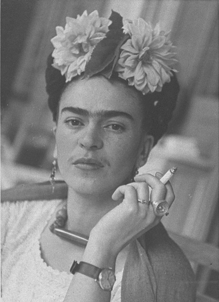 Frida Kahlo by Nickolas Murray ca. 1940