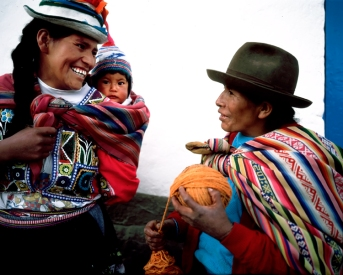 Mother and Child, Cusco, Peru © Susana Raab 2004