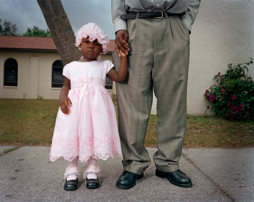 Haitian Migrant Child after Church, Immokalee, Florida, 2007