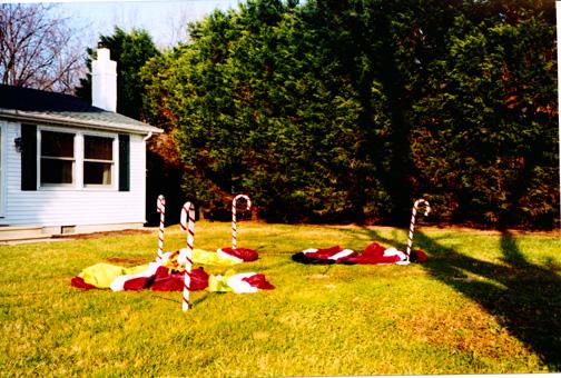 Santa Graveyard, St. Michaels, Maryland