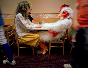 A Chicken in Love, Athens, Ohio