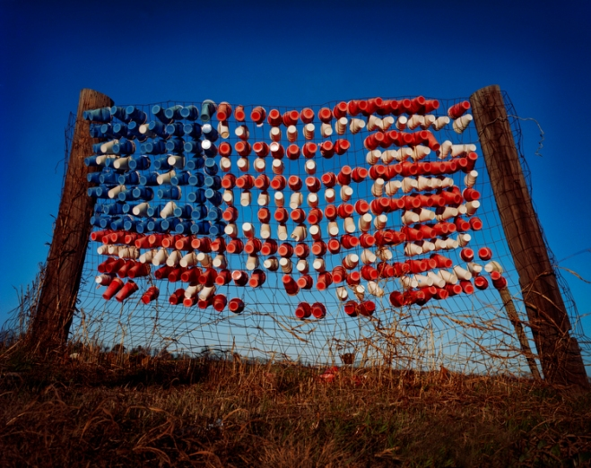 Dixie Cup Flag, Mississippi © Susana Raab 2009