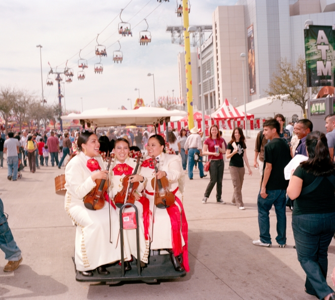 Sisters Mariachi, Houston Rodeo, TX (click for full size)
