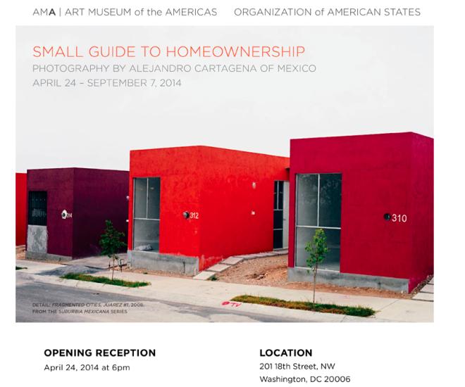 Alejandro Cartegena @the Art Museum of the Americas