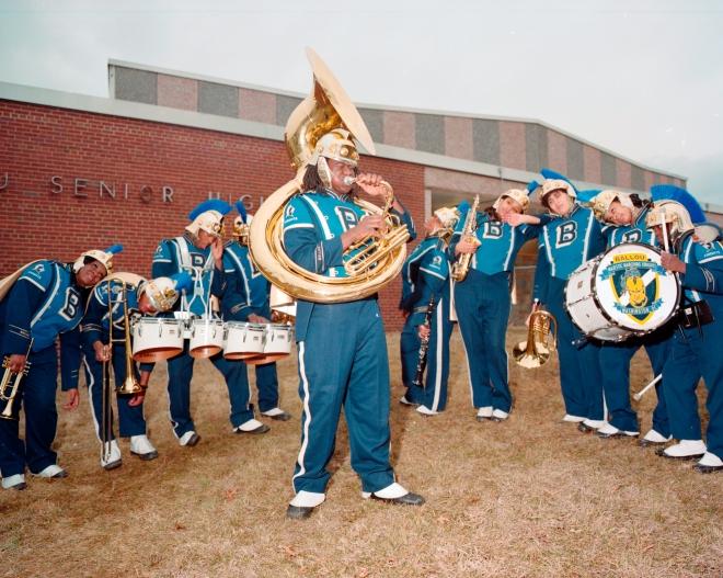 Ballou High School Marching Band, Washington, DC 2014