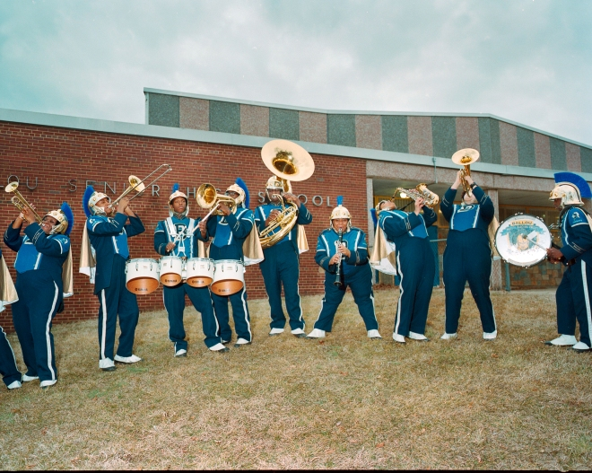 Ballou High School Marching Knights February 2014
