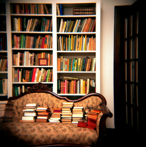 Eudora Welty's Library, Jackson, MIssissippi  © Susana Raab from the series A Sense of Place