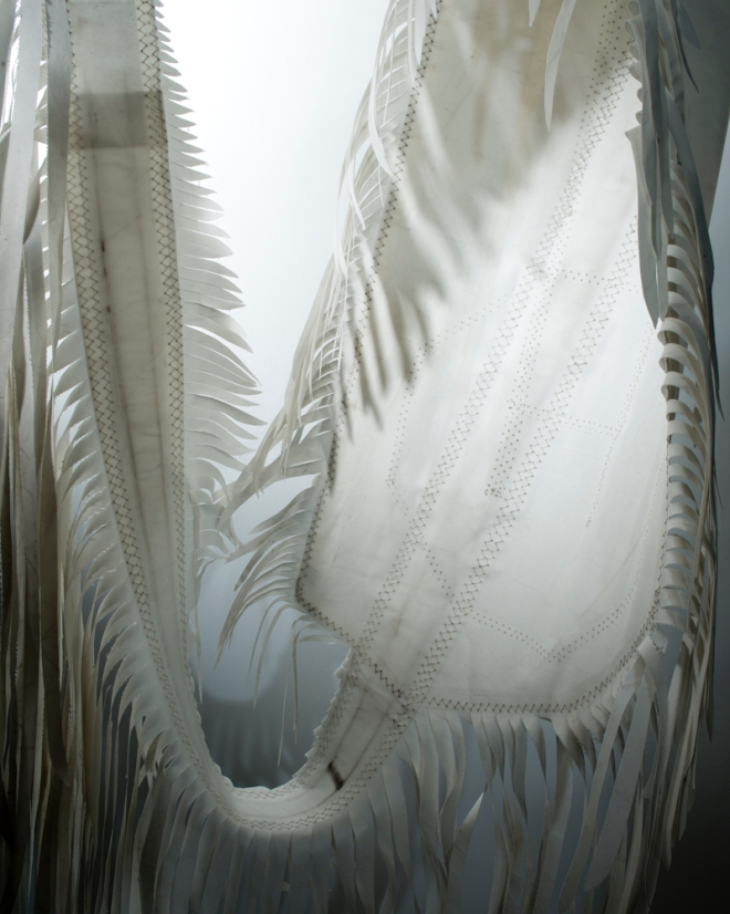 Detail: Grethe Wittrock's fiber art. © Susana Raab 2015